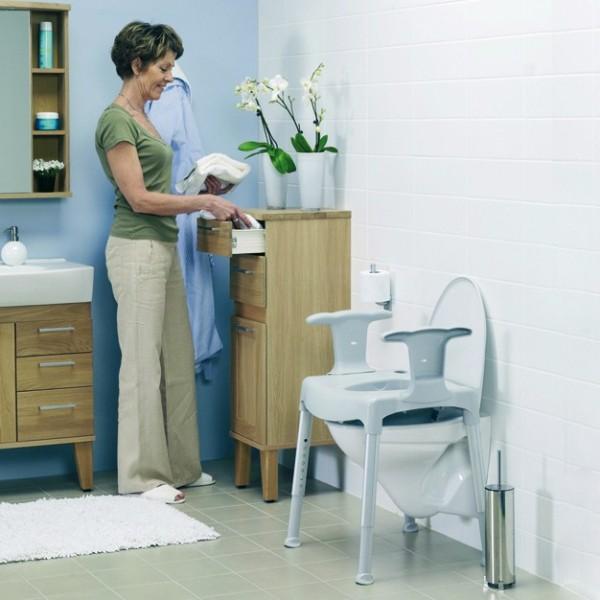 Elevador WC c/patas reg.