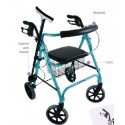 Andador con ruedas Rollator Move Light