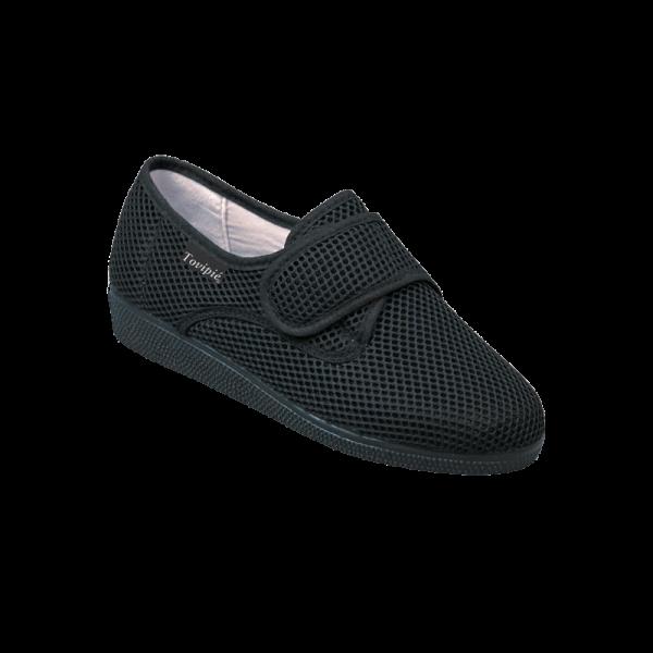 Zapato pie delicado Blandipie calado velcro