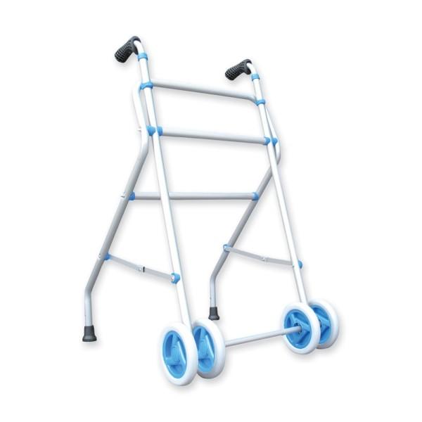Andador aluminio con ruedas