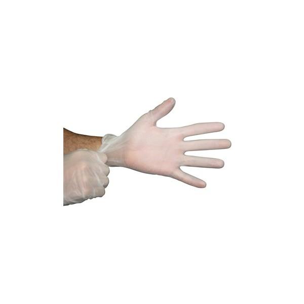 guantes de vinilo SIN POLVO