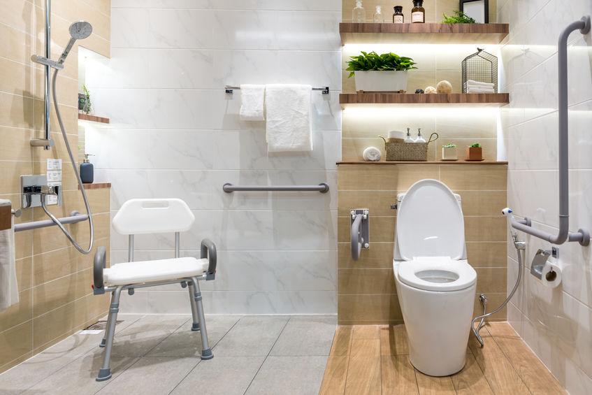 Baños para gente mayor
